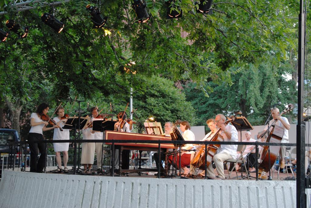 Washington Square Music Festival July 8, 2008