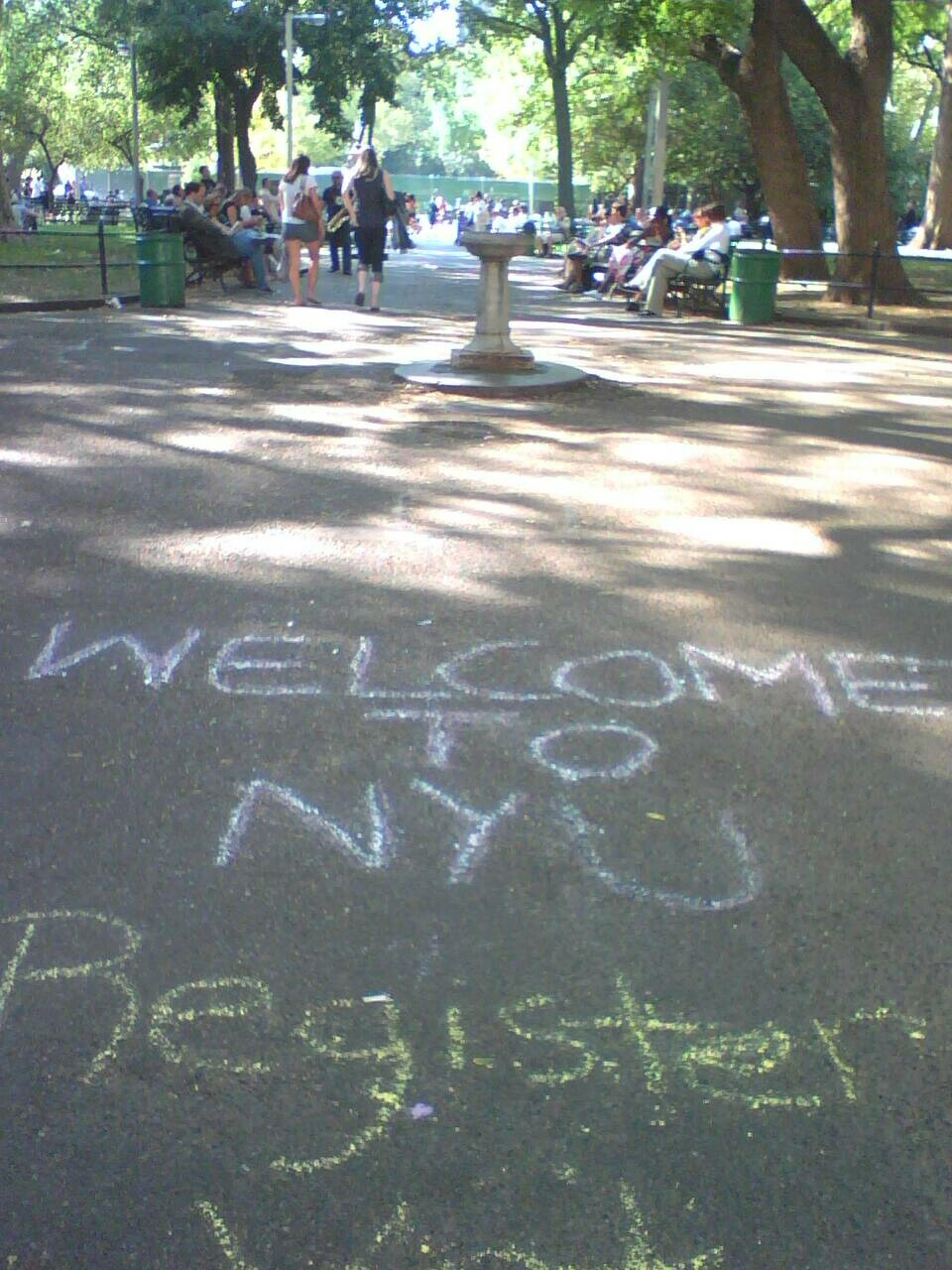 NYU Welcomes You to Their Park