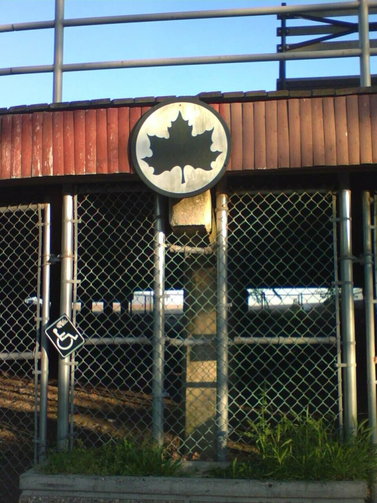 Parks Department logo Coney Island/Brighton Beach boardwalk