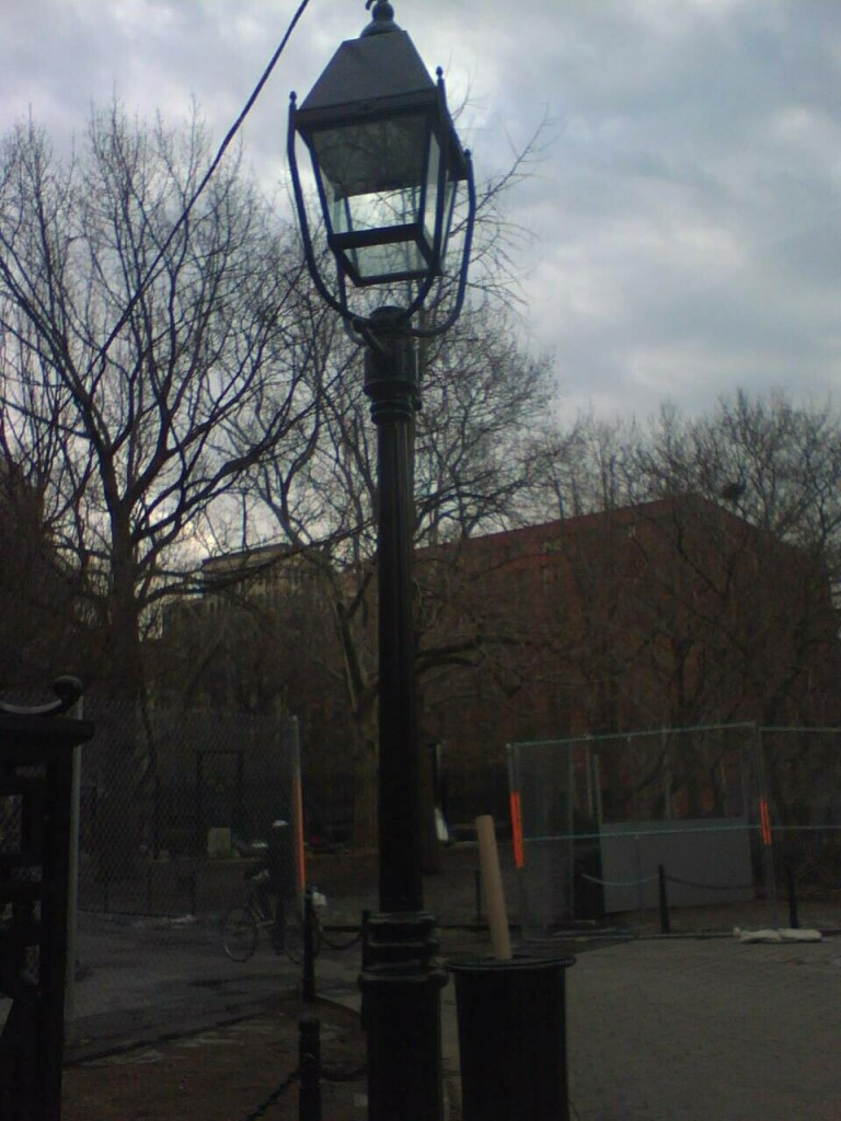 Lights at Washington Square Park