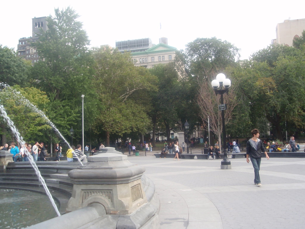 Fountain Plaza Looking East
