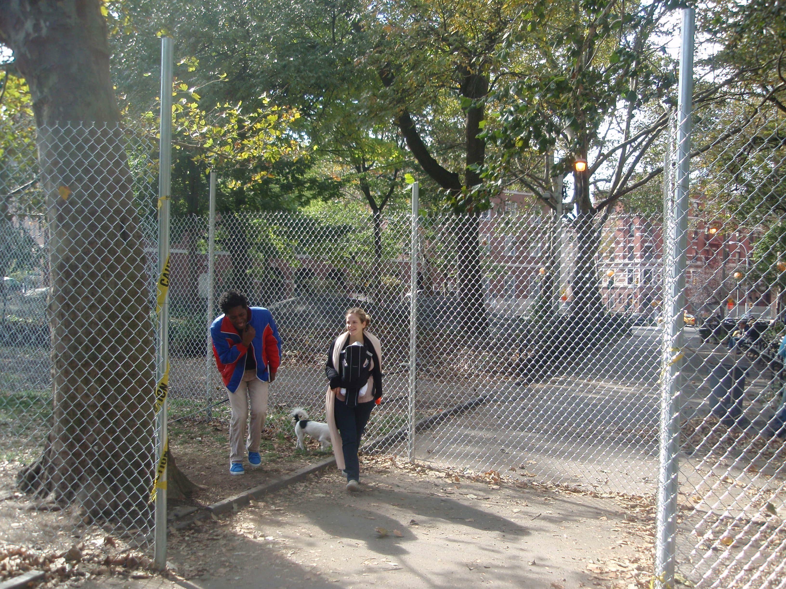Fences Up SouthWest Side!